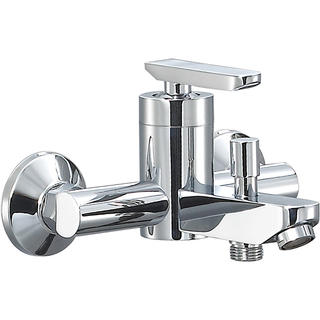 3106-10	brass faucet single lever hot/cold water wall-mounted bathtub mixer