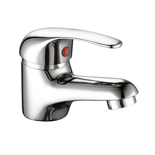 3131-30	brass faucet single lever hot/cold water deck-mounted basin mixer