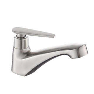 1001D4	#304 stainless steel  tap, brushed surface