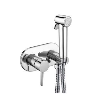3268-28S2	brass faucet single lever hot/cold water shower mixer with holder, with brass bidet sprayer, with 1.2m shower hose;
