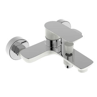 3165CW-10	brass faucet single lever hot/cold water wall-mounted bathtub mixer
