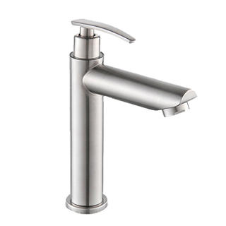 1001D2	#304 stainless steel  tap, brushed surface