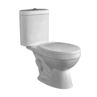 YS22206T	2-piece ceramic toilet, close coupled S-trap siphonic toilet;