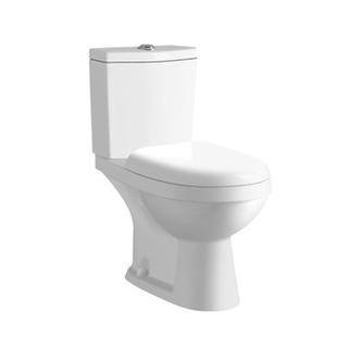 YS22211P	2-piece ceramic toilet, close coupled P-trap washdown toilet;