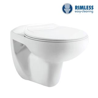YS22269HR	Wall-hung ceramic toilet, Rimless Wall-mounted toilet, washdown;