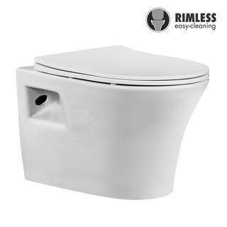 YS22278H	Wall-hung ceramic toilet, Rimless Wall-mounted toilet, washdown;