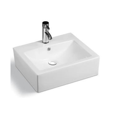 YS28203	Ceramic above counter basin, artistic basin, ceramic sink;