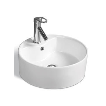 YS28204	Ceramic above counter basin, artistic basin, ceramic sink;