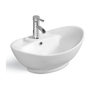 YS28206	Ceramic above counter basin, artistic basin, ceramic sink;