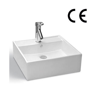 YS28208B	Ceramic above counter basin, artistic basin, ceramic sink;