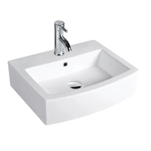 YS28216	Ceramic above counter basin, artistic basin, ceramic sink;