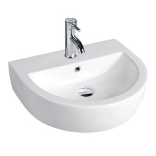 YS28217	Ceramic above counter basin, artistic basin, ceramic sink;