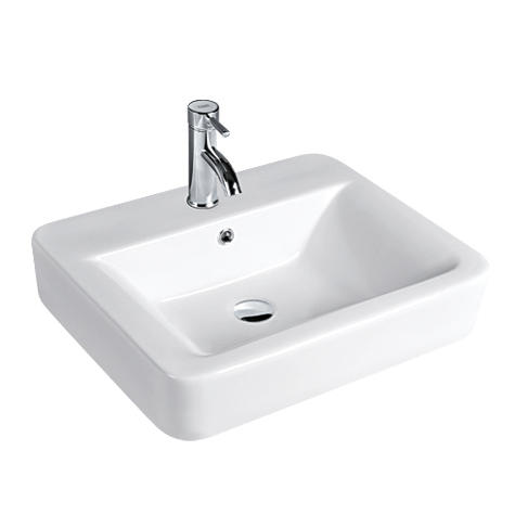 YS28218	Ceramic above counter basin, artistic basin, ceramic sink;