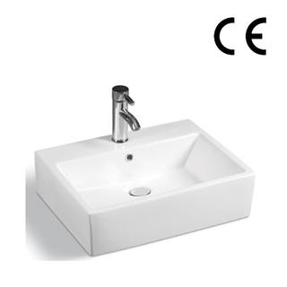 YS28253	Ceramic above counter basin, artistic basin, ceramic sink;