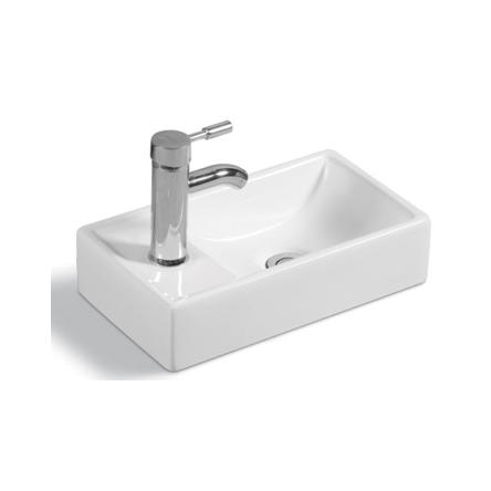 YS28286	Ceramic above counter basin, artistic basin, ceramic sink;