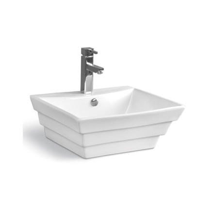 YS28290	Ceramic above counter basin, artistic basin, ceramic sink;