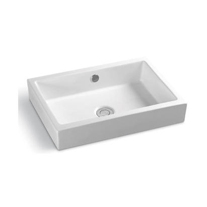 YS28323	Ceramic above counter basin, artistic basin, ceramic sink;