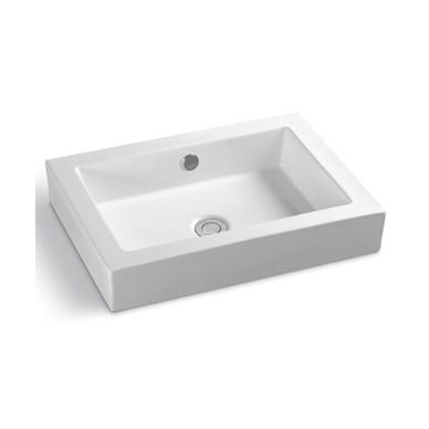 YS28324	Ceramic above counter basin, artistic basin, ceramic sink;