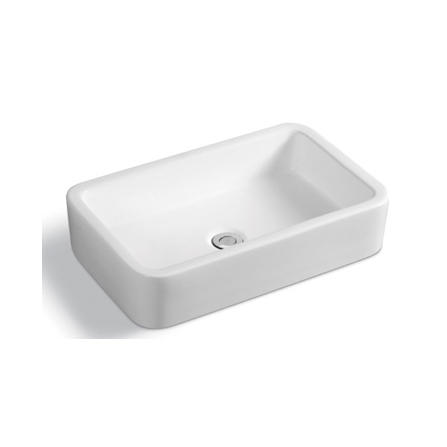 YS28326	Ceramic above counter basin, artistic basin, ceramic sink;