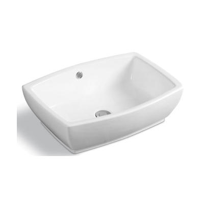 YS28337	Ceramic above counter basin, artistic basin, ceramic sink;