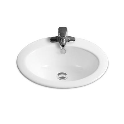 YS28343	Ceramic above counter basin, artistic basin, ceramic sink;
