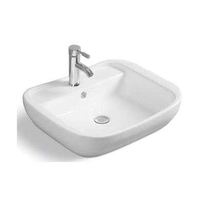 YS28345	Ceramic above counter basin, artistic basin, ceramic sink;
