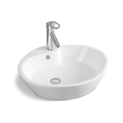 YS28351	Ceramic above counter basin, artistic basin, ceramic sink;