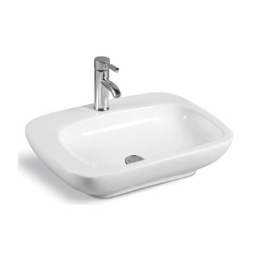 YS28367	Ceramic above counter basin, artistic basin, ceramic sink;