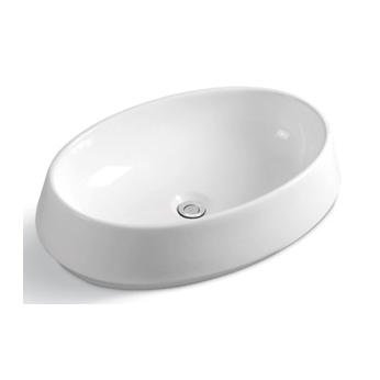 YS28369	Ceramic above counter basin, artistic basin, ceramic sink;