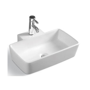 YS28372	Ceramic above counter basin, artistic basin, ceramic sink;