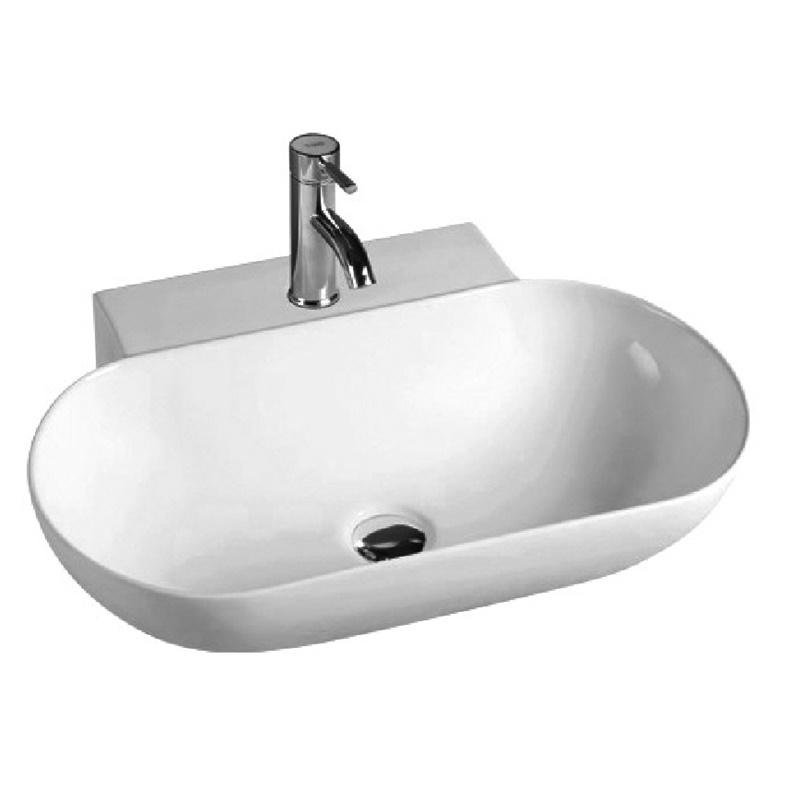 YS28388	Ceramic above counter basin, artistic basin, ceramic sink;