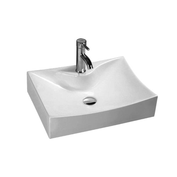 YS28396	Ceramic above counter basin, artistic basin, ceramic sink;