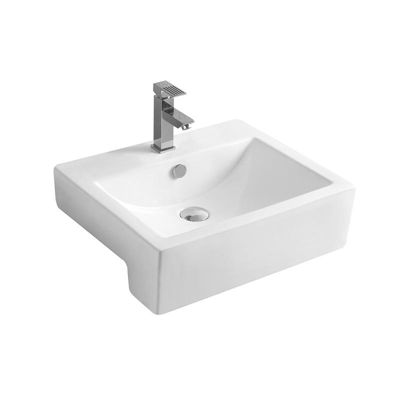 YS28426	Ceramic above counter basin, artistic basin, ceramic sink;