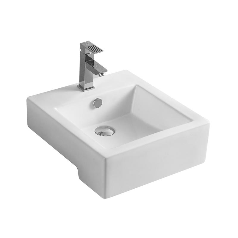 YS28427	Ceramic above counter basin, artistic basin, ceramic sink;