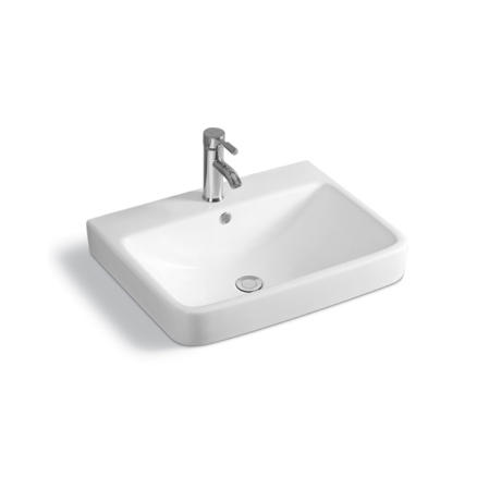 YS28429	Ceramic above counter basin, artistic basin, ceramic sink;