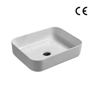 YS28434	Ceramic above counter basin, artistic basin, ceramic sink;